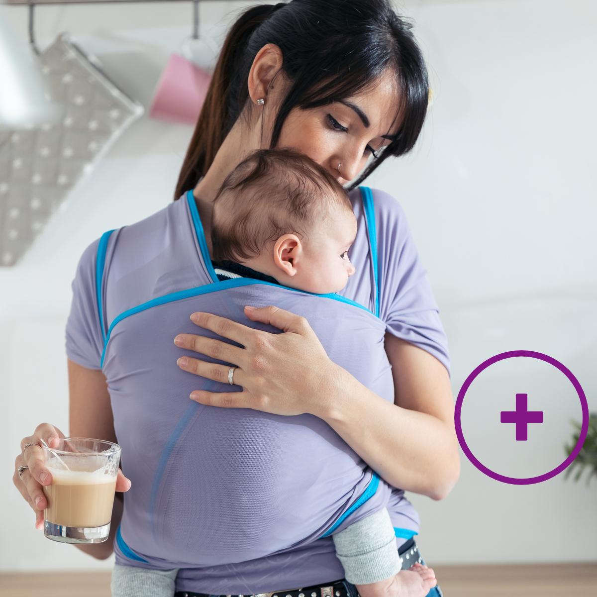 gesundes Babytragen+